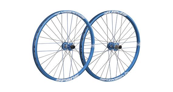 Spank Spike Race28 EVO Laufradsatz 20mm + 12/150mm blau